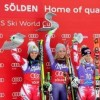Shiffrin ties for first in opening World Cup GS in Soelden