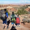When it's unseasonably warm in ski country, time to go winter backpacking in Canyonlands