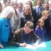 Hickenlooper signs Public Lands Day bill in Vail, addresses Clinton rumors