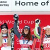 Vonn again second to Goggia on Olympic super-G course