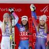 Vonn, Shiffrin both podium in Cortina downhill as Goggia grabs the win