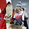 Shiffrin tops Vlhova to win again on Levi Black World Cup slalom course