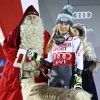 Shiffrin tops Vlhova to win again on Levi Black World Cup slalom course