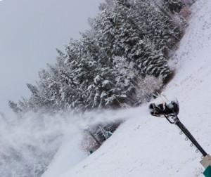 Beaver Creek snowmaking gun