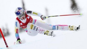 Lindsey Vonn returns to action