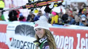 Mikaela Shiffrin third in Lienz GS