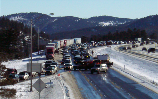I-70 traffic mess