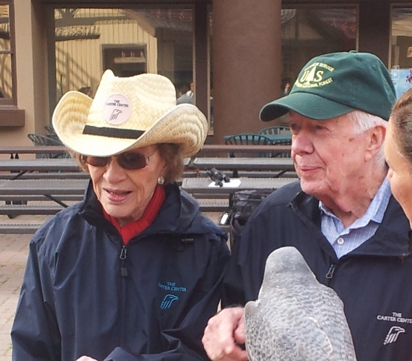 Jimmy and Rosalynn Carter in Vail