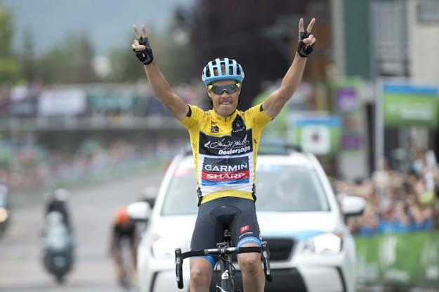 Tom Danielson wins tour of utah