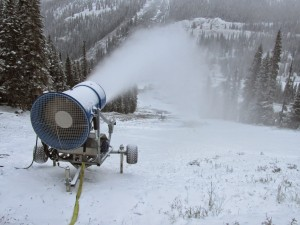 A-Basin snowmaking