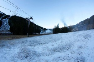 Loveland snowmaking.