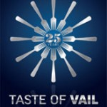 taste of vail 25th logo