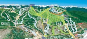 vail mountain map