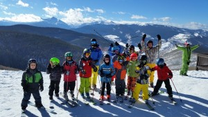 Vail mountain birthday party
