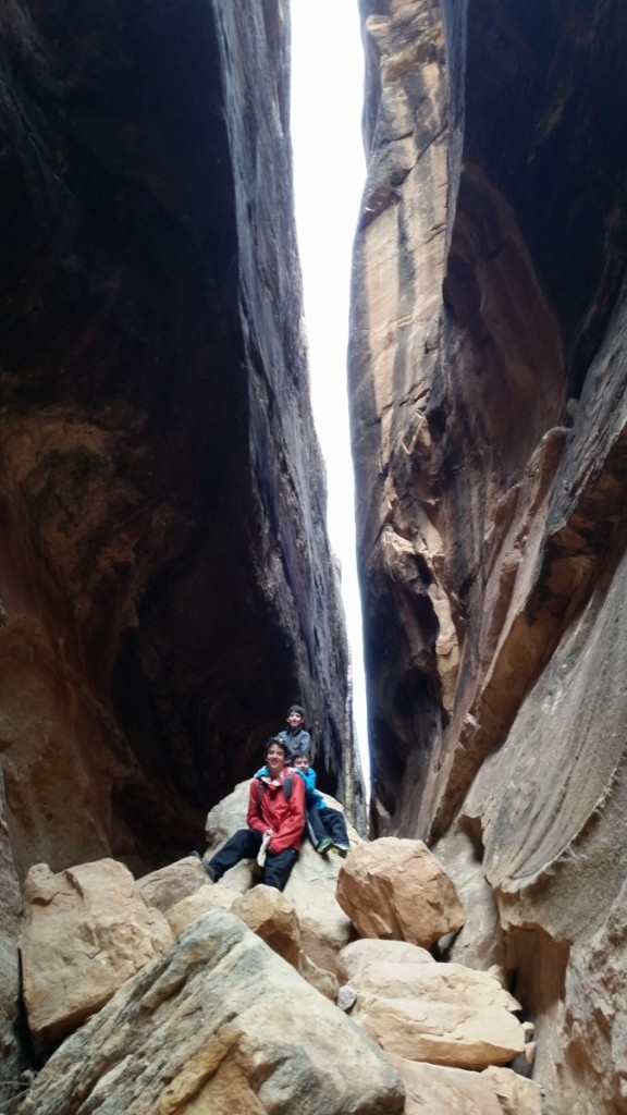 Joint Trail in Canyonlands