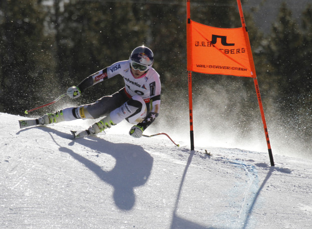 Lindsey Vonn downhill training day 1 world champs