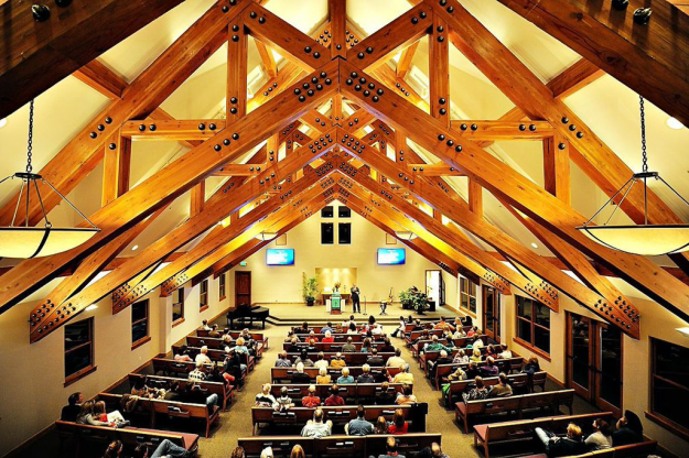 Eagle River Presbyterian Church sanctuary