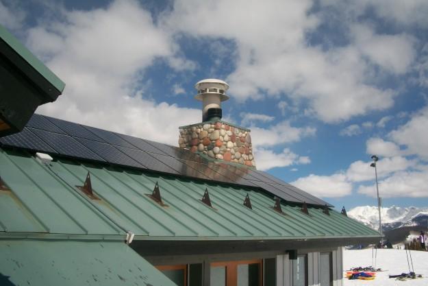 Vail Mountain solar PV