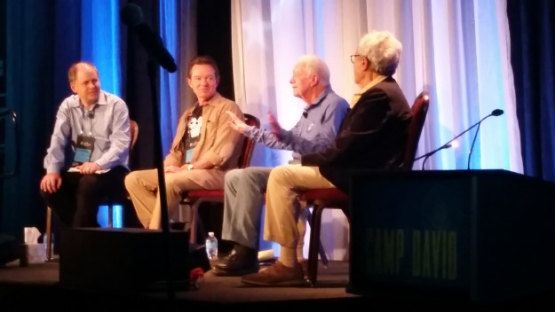 Jimmy Carter panel discussion in Vail
