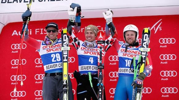 Ligety second in super-G