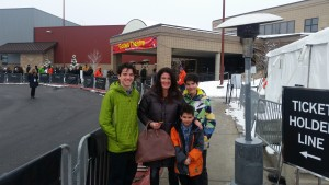 Williams family at Sundance