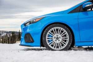 The Focus RS Winter Wheel & Tire Package