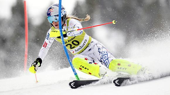 vonn 8th in combined