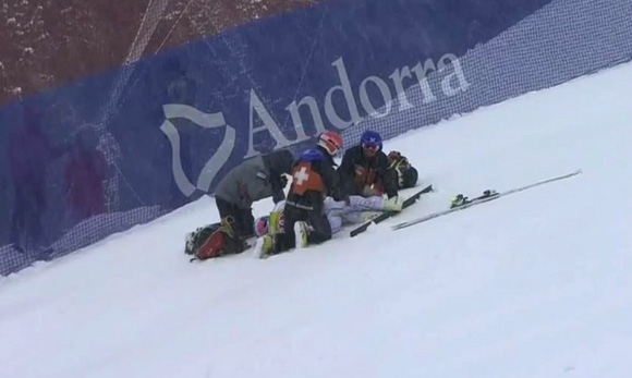 vonn injury