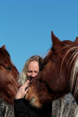 Woman.Horses