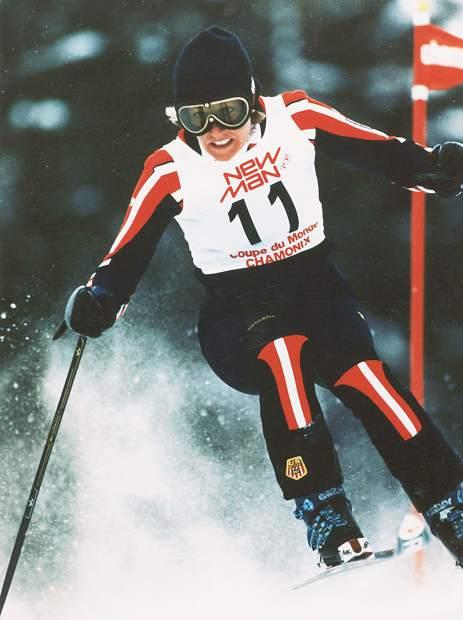 Ski racer Cindy Nelson