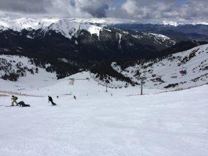 A-Bain skiing
