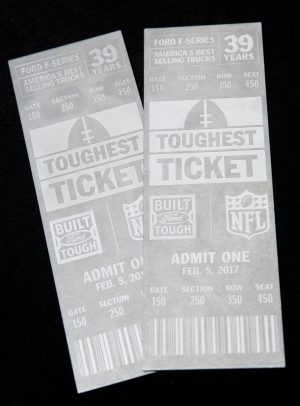 Ford trucks NFL tickets