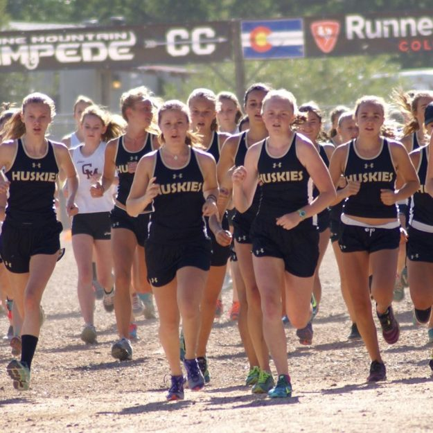 battle mountain huskies girls x-country