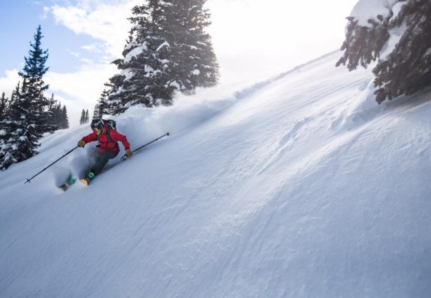 vail powder shot