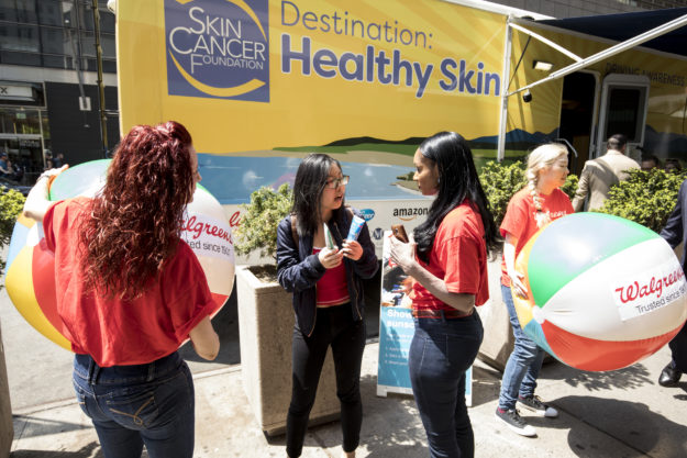 Destination: Healthy Skin attendees.