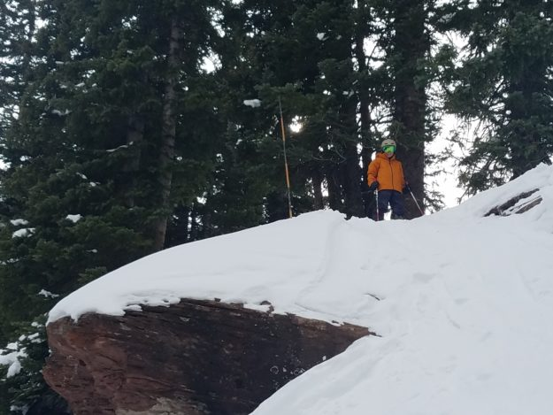 rennick on north rim at vail 111718